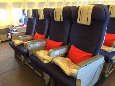 Cabine housse tissu long courrier (A310)